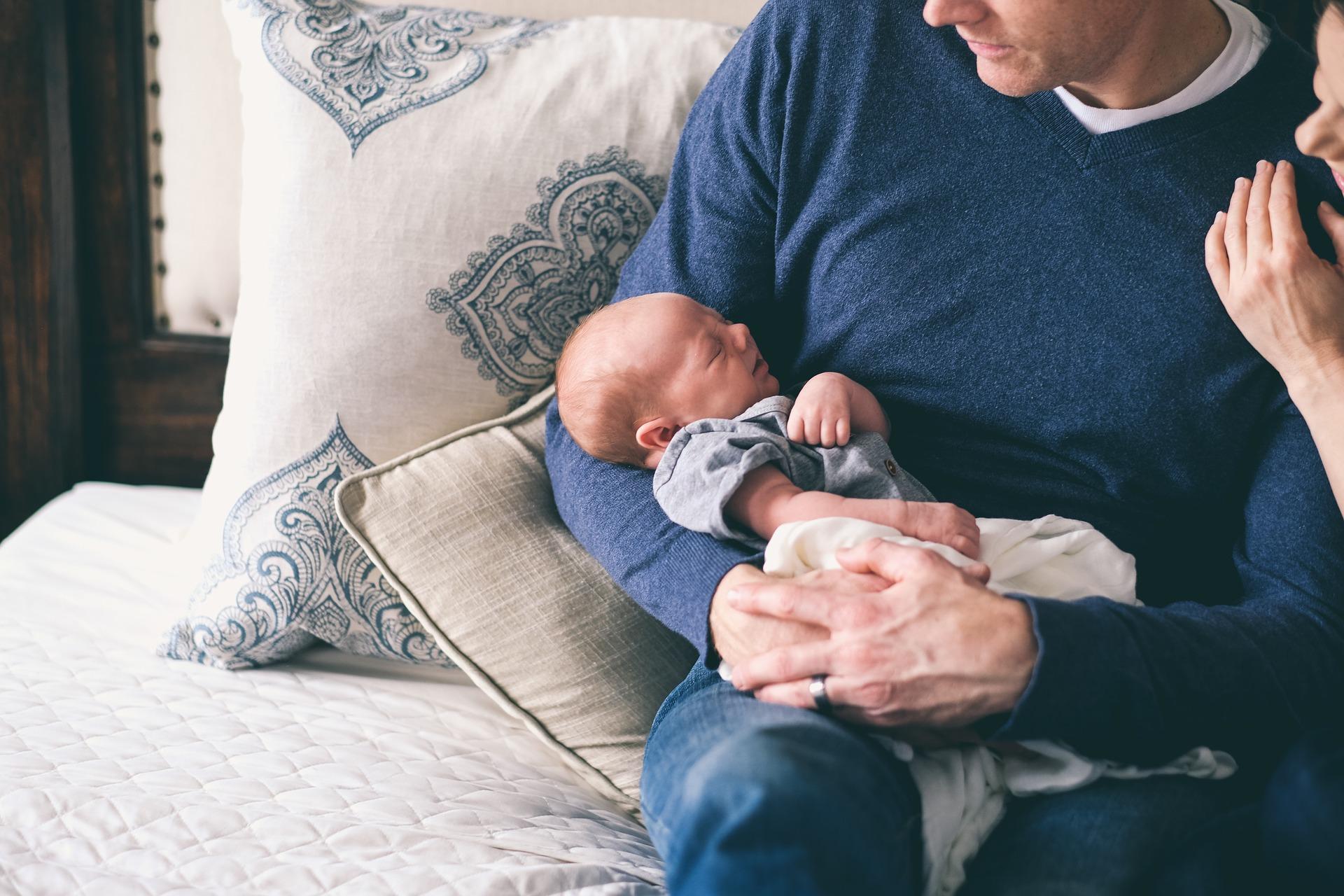 sophrologie pour jeune papa avec bébé